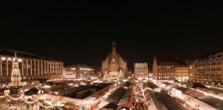 Zauberhaft: der Nürnberger Christkindlesmarkt nach Einbruch der Dunkelheit (Foto: CTZ / Steffen Oliver Riese)