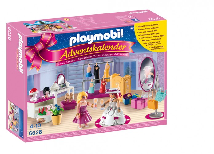 playmobil adventskalender f r m dchen ankleidespa 2015. Black Bedroom Furniture Sets. Home Design Ideas
