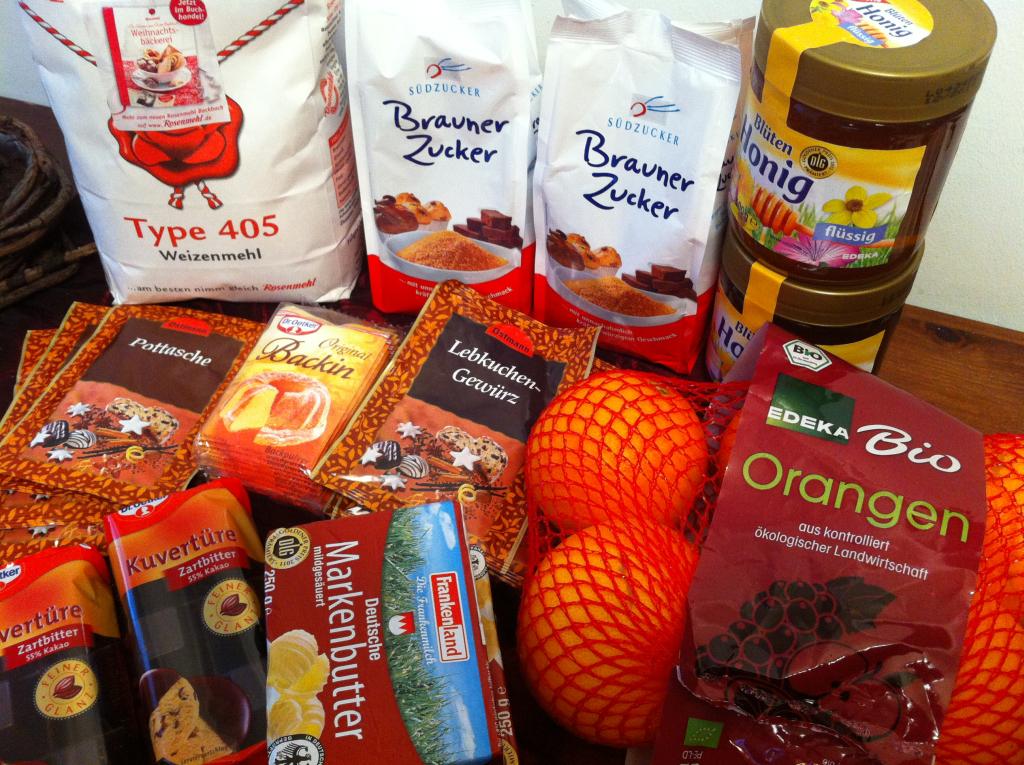 Elisenlebkuchen backen: Rezept und Zutaten