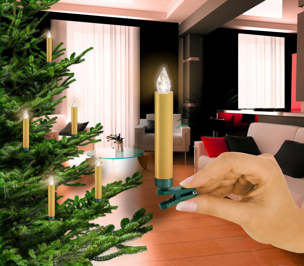 Weihnachtsbaum beleuchtung ohne kabel aldi