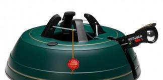 Der Krinner Christbaumständer Premium L ist mit Sicherungsglocke und Wasserfüllstandsanzeige ausgestattet.