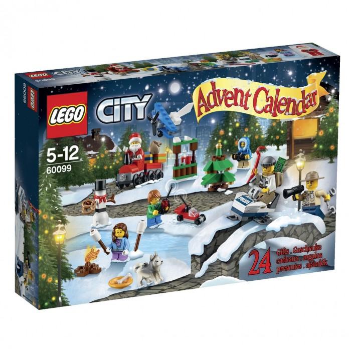 Einer der drei Lego Adventskalender 2015: Der Lego City Adventskalender 2015 (Lego 60099) enthält rund 280 Bauteile.