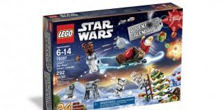 Der Lego Star Wars Adventskalender 2015 enthält fünf Minifiguren und fast 300 Bauteile.