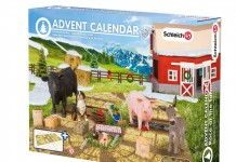 Der Schleich Adventskalender 2015 Bauernhof enthält neben vielen Tieren auch jede Menge Zubehör.