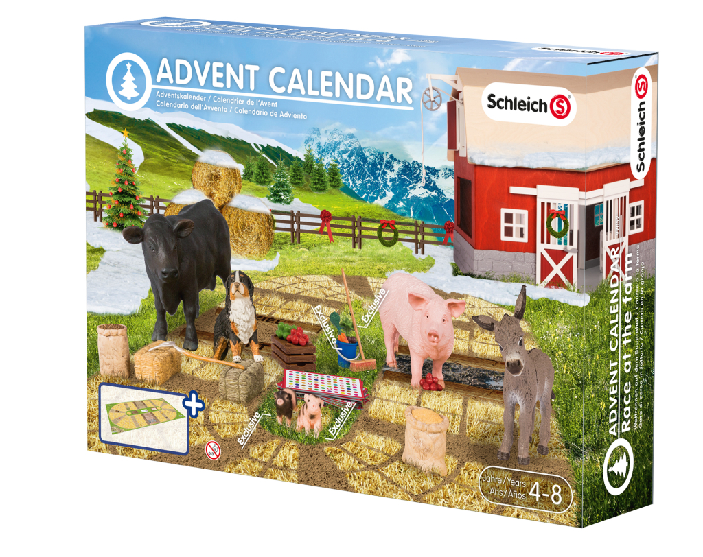 schleich adventskalender 2015 bauernhof versandkostenfrei. Black Bedroom Furniture Sets. Home Design Ideas