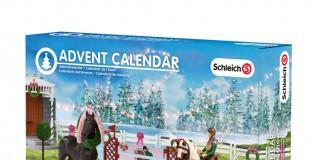 Hersteller wie Schleich legen eigene Adventskalender für Mädchen auf (hier: Schleich Adventskalender 2015 Pferde).