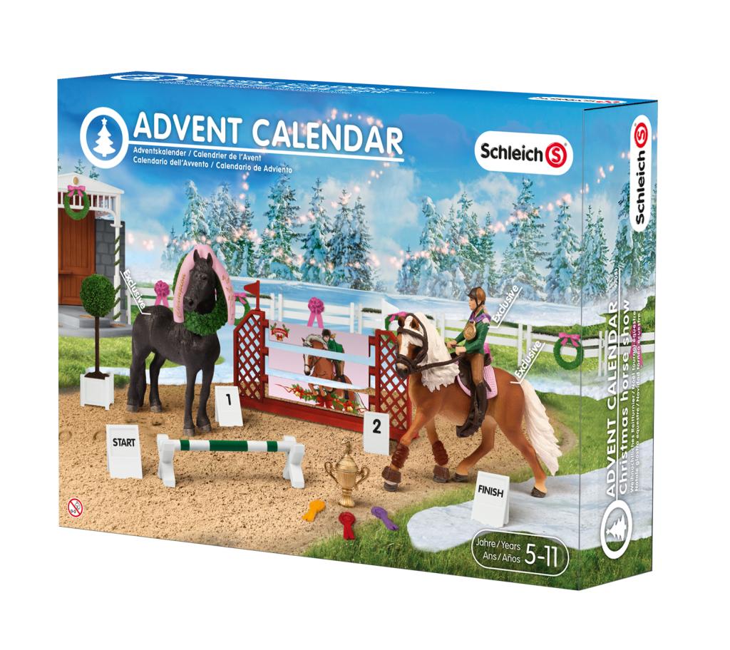 Schleich Adventskalender Pferde 2015 versandkostenfrei