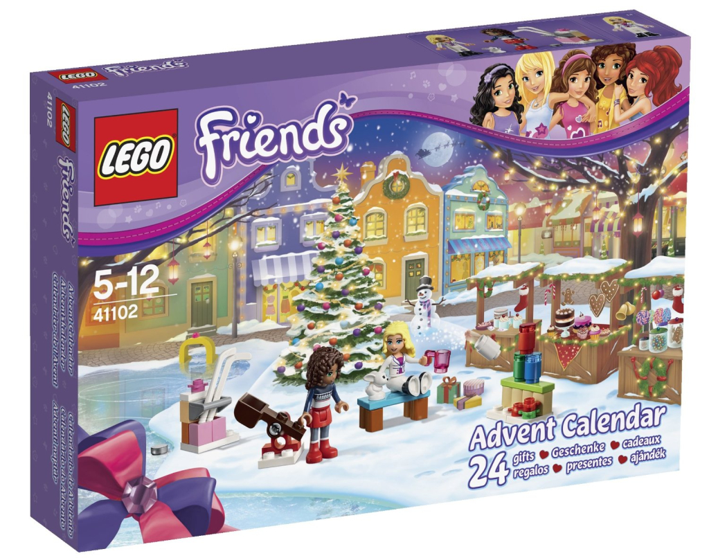 lego friends adventskalender 2015 speziell f r m dchen. Black Bedroom Furniture Sets. Home Design Ideas