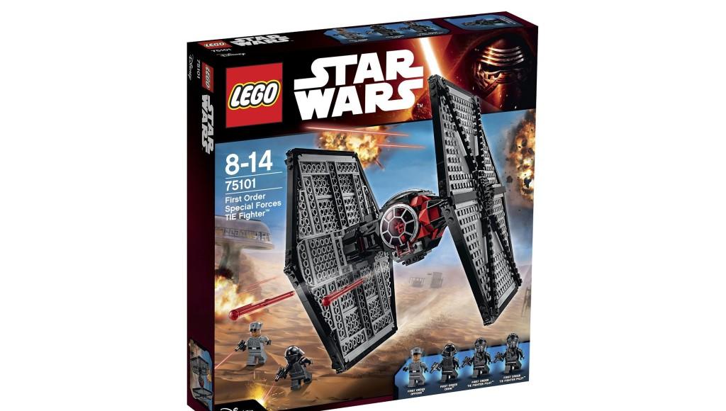 Der LEGO Star Wars First Order Special Forces TIE Fighter gehört zu zu den Lego-Top-Neuheiten 2015.
