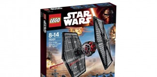 Der LEGO Star Wars First Order Special Forces TIE Fighter gehört zu zu den Lego-Top-Neuheiten 2015.