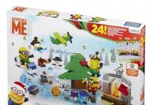 Der Minions Adventskalender 2015 enthält über 200 Mega Bloks-Bauteile.