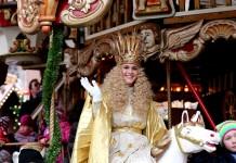 Nachfolgerin gesucht: Das Nürnberger Christkind regiert stets zwei Jahre lang den Nürnberger Christkindlesmarkt (Foto: Steffen Oliver Riese / CTZ)