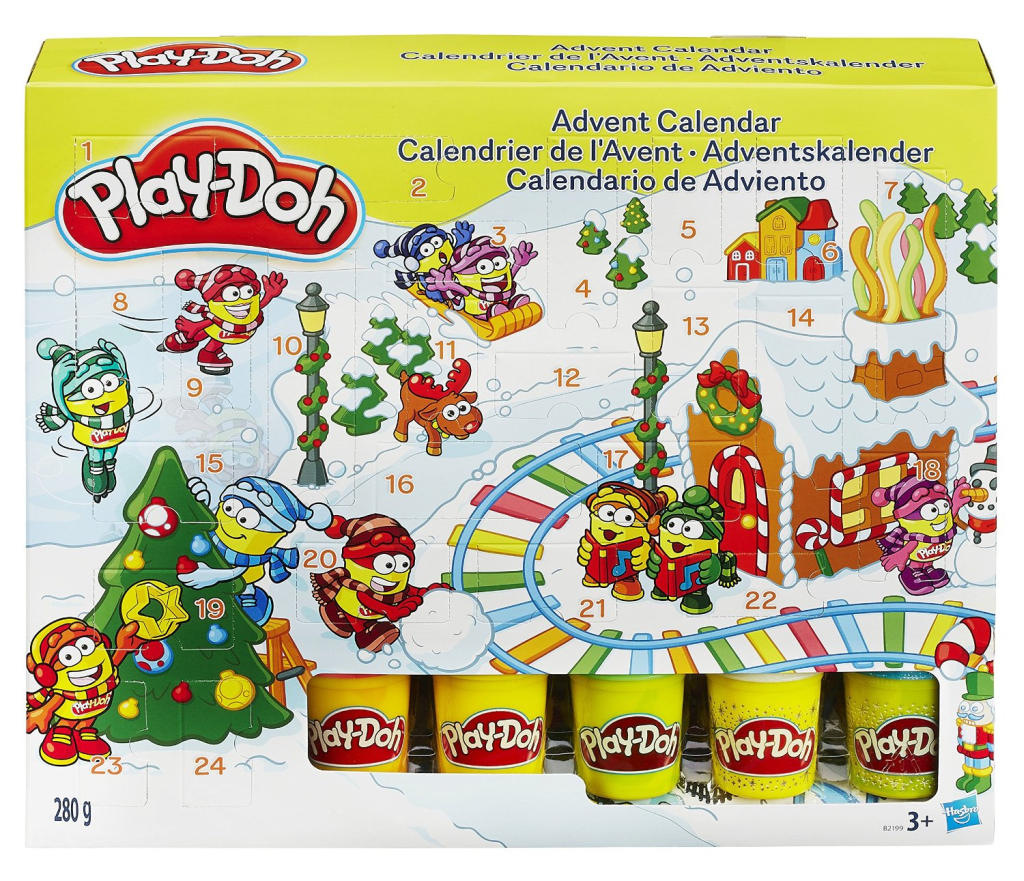play doh adventskalender 2015 keine fete ohne knete. Black Bedroom Furniture Sets. Home Design Ideas