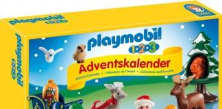 Ein wunderschöenr Adventskalender für Babys: Waldweihnacht ist das Motto des Playmobil 123 Adventskalender.