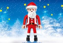 Der Playmobil XXL Weihnachtsmann misst satte 65 Zentimeter.