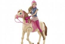 Das galoppierende Reitpferd gehört zu den spannendsten Barbie Neuheiten 2015.