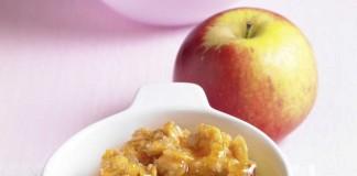 Superlecker, supereinfach und in 20 Minuten fertig: Dieses Bratapfel Rezept bekommt seinen besonderen Crunch durch Vitalis Knuspermüsli (Foto: (c) Dr. Oetker Versuchsküche)