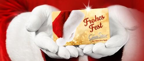 Praktisch für Schenkende und Beschenkte: Geschenkgutscheine - hier von Cinestar - kommen immer gut an.
