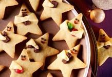 Ein himmlischer Genuss: Mit dem Himmelsboten Rezept entstehen 50 dieser lustigen Weihnachtssterne (Foto: (c) Dr. Oetker Versuchsküche)