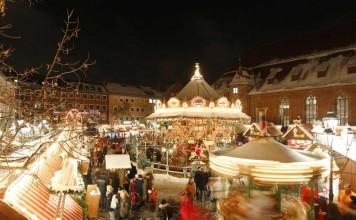 Die Nürnberger Kinderweihnacht befindet sich unmittelbar neben dem Nürnberger Christkindlesmarkt (Foto: CTZ Nürnberg / Steffen Oliver Riese)