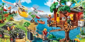 Das mit viel Zubehör ausgestattete Playmobil Baumhaus gehört zu den Playmobil Schnäppchen dieser Woche (Foto: Playmobil)