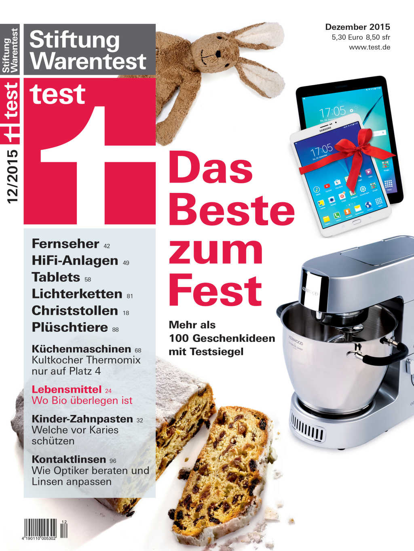 Thermomix Test Stiftung Warentest testet Küchenmaschine