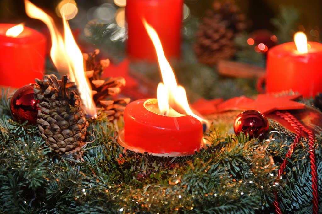 Brandschutz: Sicher durch die Weihnachtszeit