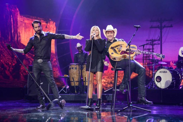 Zu Gast in der Helene-Fischer-Show 2015: The Boss Hoss (Foto: ZDF / Sandra Ludewig)