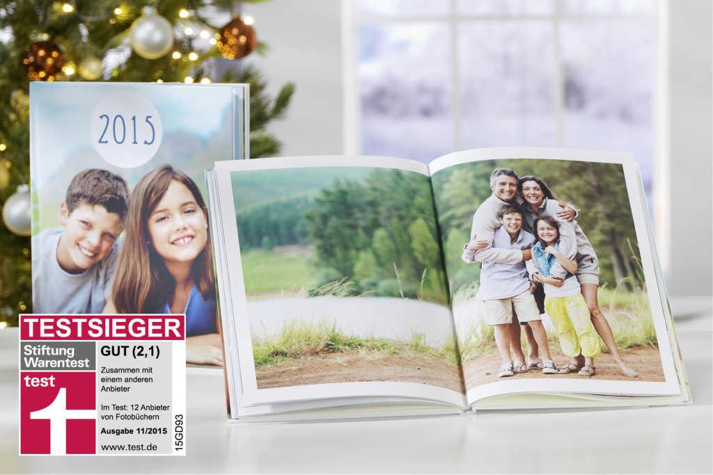 Die Fotobuch Lieferzeiten an Weihnachten 2015 variieren von Anbieter zu Anbieter (Foto: Pixum)