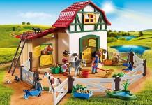 Der neue Playmobil Ponyhof (Playmobil 6927) erscheint im Januar 2016 (Foto: Playmobil).
