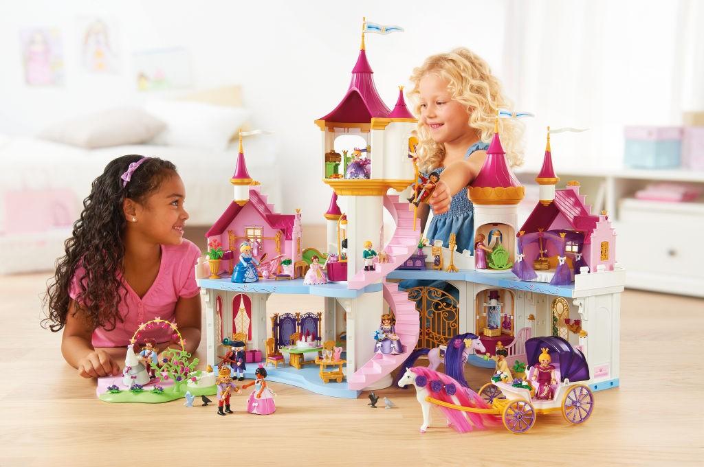 Das Playmobil Prinzessinnenschloss (Playmobil 6848) kommt im September 2016 in den Handel (Foto: PLAYMOBIL).