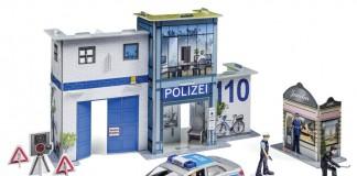 Die neue Tiptoi Spielwelt Polizei von Ravensburger kommt im September 2016 auf den Markt (Foto: Ravensburger).