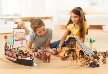 Die neue Playmobil Pyramide (Playmobil 5386) steckt voller Überraschungen. Die Seitenflächen können entfernt werden (Foto: Playmobil).