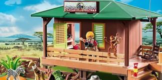 Die Playmobil Rangerstation kümmert sich um die Aufzucht und Pflege der afrikanischen Tierwelt.