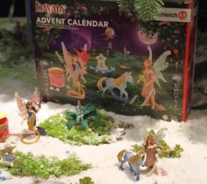 Schleich widmet der Elfenwelt von Bayala einen eigenen Schleich Adventskalender 2016.
