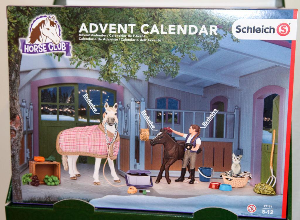 Weihnachtskalender Schleich Pferde.Schleich Adventskalender Pferde 2016 Packung Odufroehliche De O Du