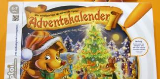 Der Tiptoi Adventskalender 2016 Waldweihnacht von Ravensburger erscheint im August 2016.