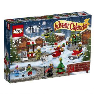 Hinter den 24 Türchen des LEGO City Adventskalender 2016 verbergen sich jede Menge Überraschungen.