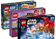 LEGO bietet auch in diesem Jahr drei verschiedene LEGO Adventskalender 2016 an.