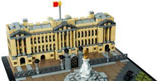 Fast wie in der Realität: der neue Buckingham-Palast aus der Reihe LEGO Architecture.
