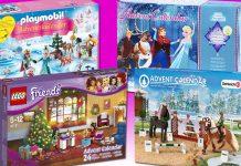 Adventskalender für Mädchen 2016: Playmobil, LEGO Friends, Schleich und Eiskönigin