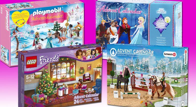 Adventskalender für Mädchen 2016: Eiskönigin, Barbie & Co.