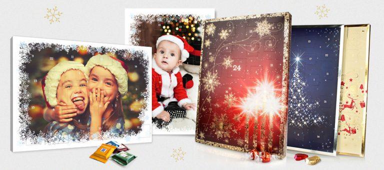 Foto-Adventskalender mit Schokolade: Preise und Anbieter