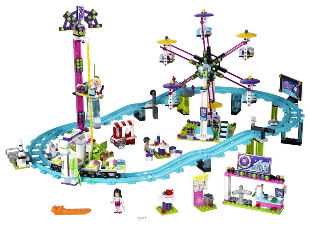 Viel Spielspaß fürs Geld: der LEGO Friends Freizeitpark (LEGO 41130)
