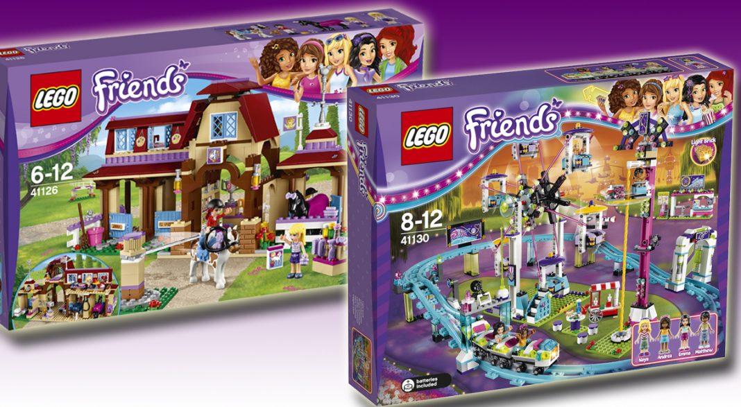 Neu bei LEGO Friends 2016: LEGO Friends Heartlake Reiterhof und LEGO Friends Freizeitpark