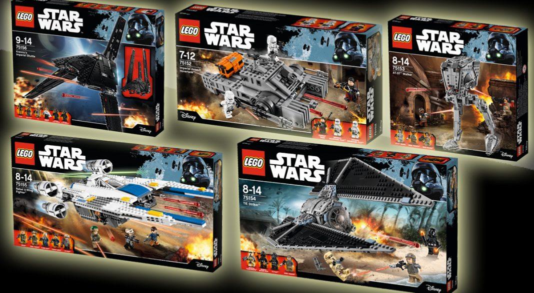 Alle fünf Neuheiten von LEGO Star Wars zum Kinostart von