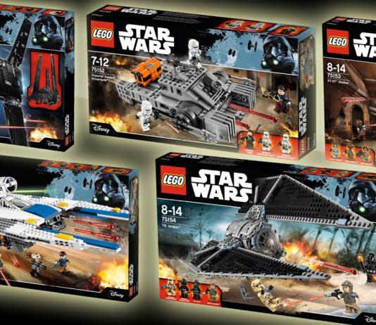 """Alle fünf Neuheiten von LEGO Star Wars zum Kinostart von """"Rogue One: A Star Wars Story"""""""