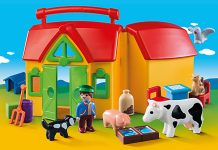 Neu in der Saison 2016: der Playmobil 1.2.3 Mitnehm-Bauernhof.
