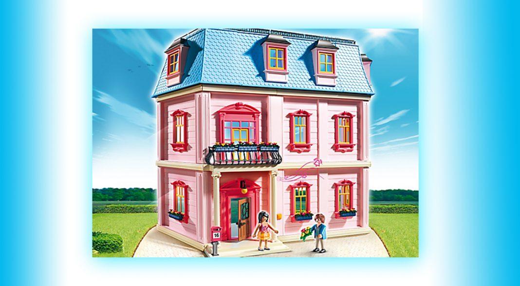 Top-Weihnachtsgeschenk 2016: das Playmobil Puppenhaus (Artikelnummer 5303)