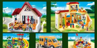 Die Playmobil Schule und die Playmobil Kita Sonnenschein lassen sich perfekt kombinieren.